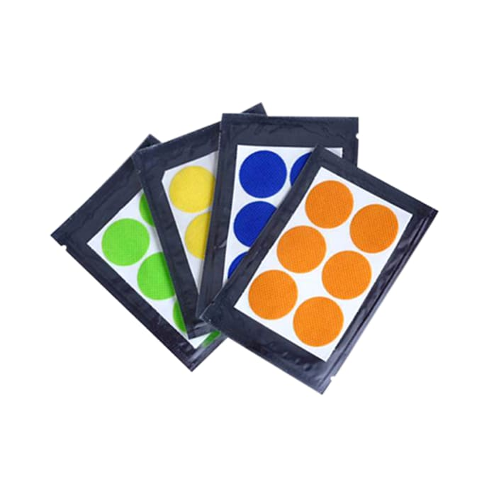 Safe-O-Kid Assorted Color - 24 Anti-Mosquito Patches with Free 6 Anti Mosquito Patches / Stickers