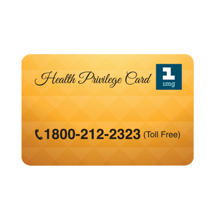 Health Privilege Card