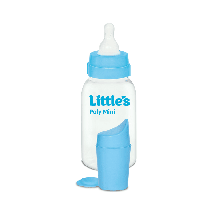 Little's Poly Feeding Bottle Mini Pack of 2