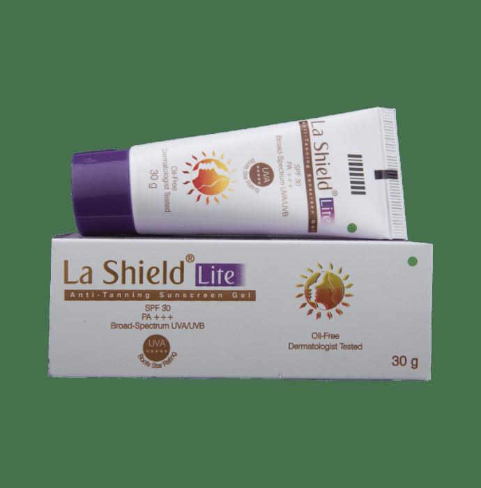 LA Shield Lite Anti-Tanning Sunscreen Gel SPF 30