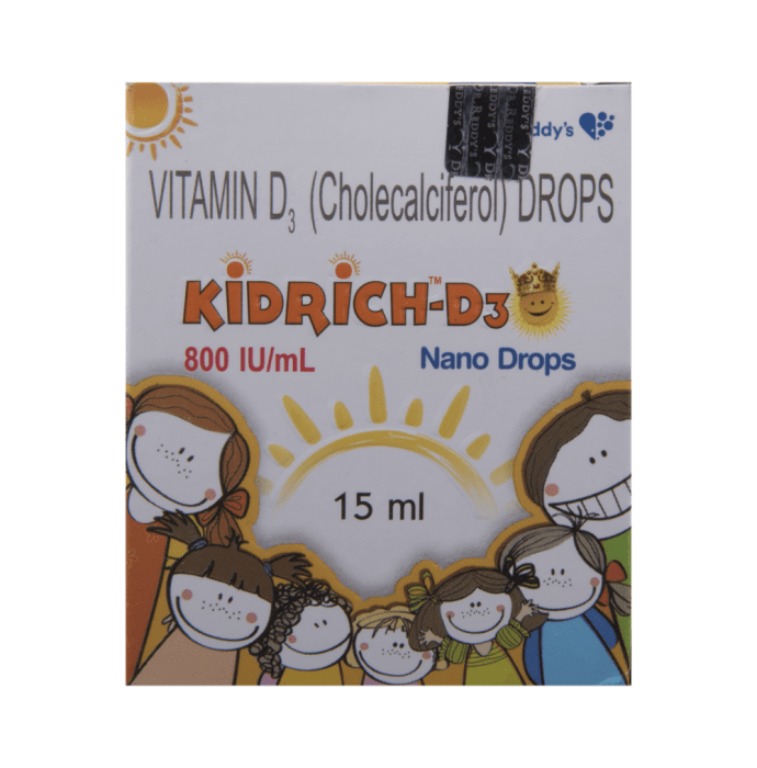 Kidrich-D3 800 IU/ml Drop
