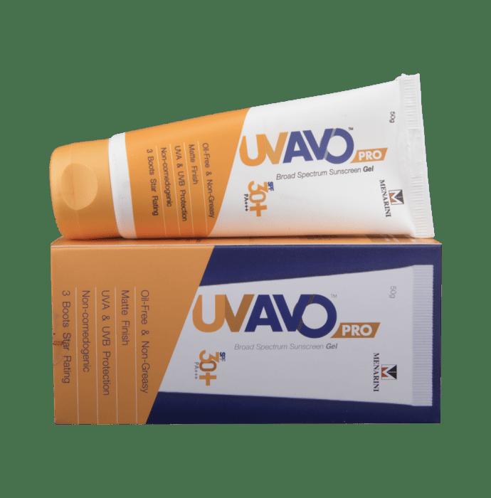 U.V. Avo Pro SPF 30+ Gel