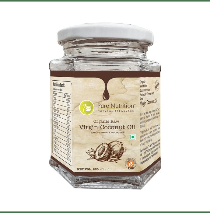 Pure Nutrition Virgin Coconut Oil Organic Raw