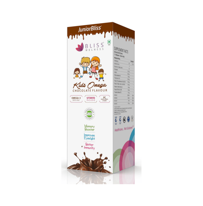 Bliss Welness Kids Omega Chocolate