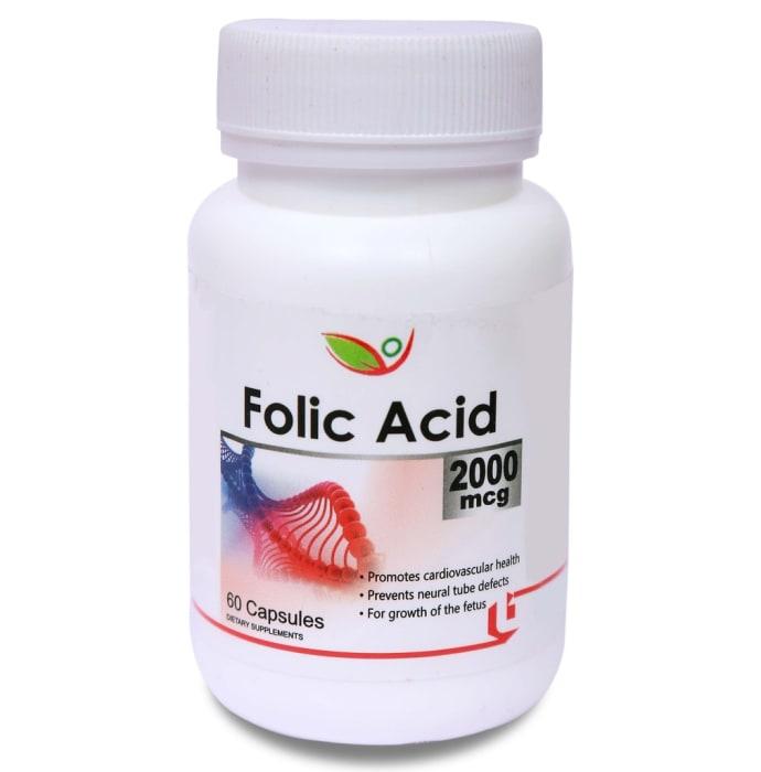 Biotrex Folic Acid 2000mcg Capsule