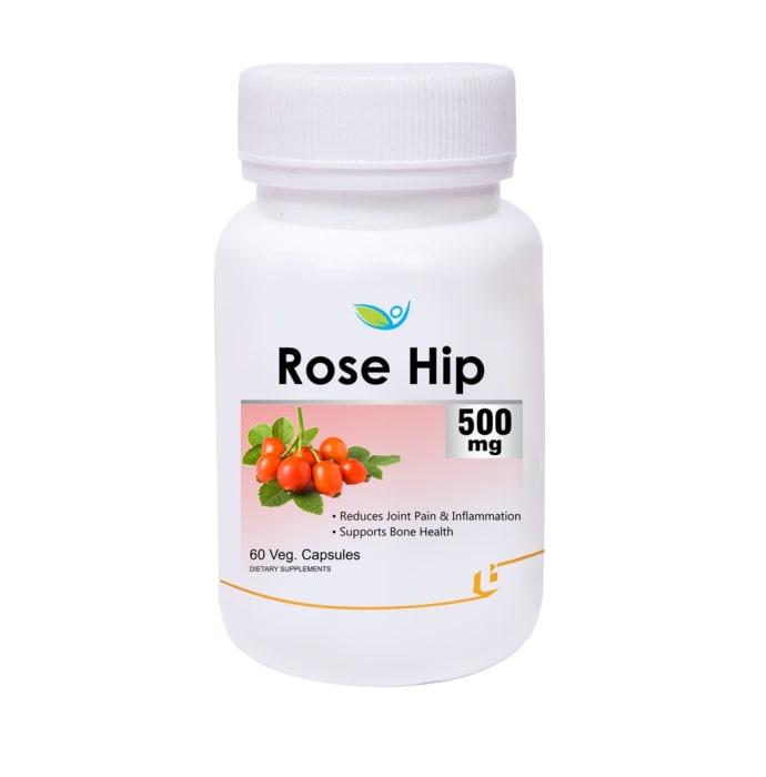 Biotrex Rose Hip Extract 500mg Veg Capsule
