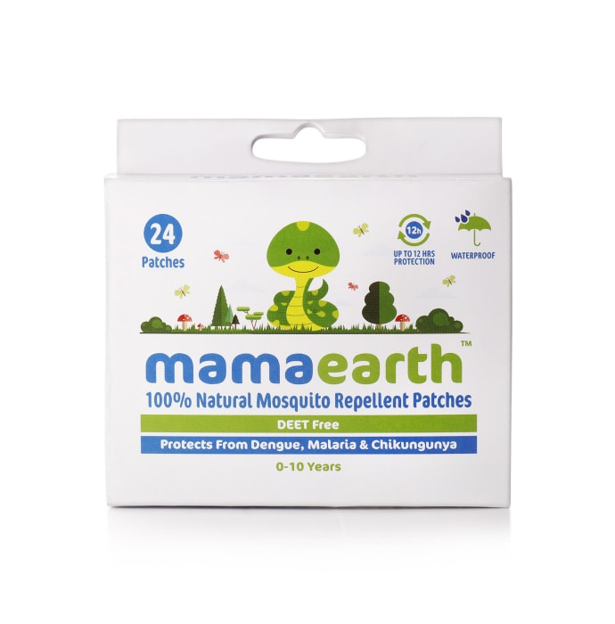 Mamaearth 100% Natural Mosquito Repellant Patches