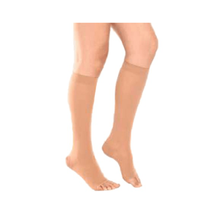 Tynor I-66 Medical Compression Stocking Below Knee High Class 1 (Pair) M