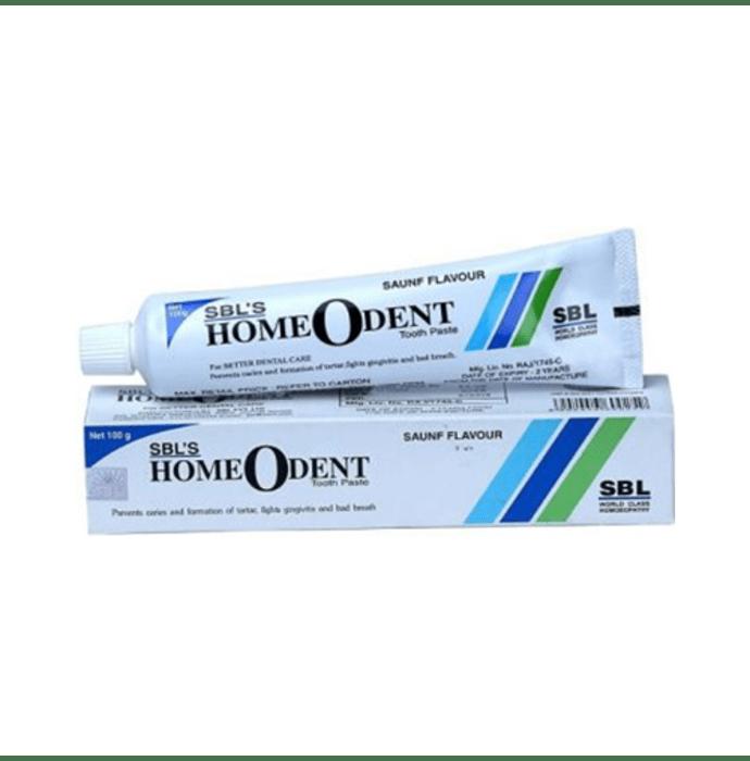 SBL Homeodent Toothpaste Saunf