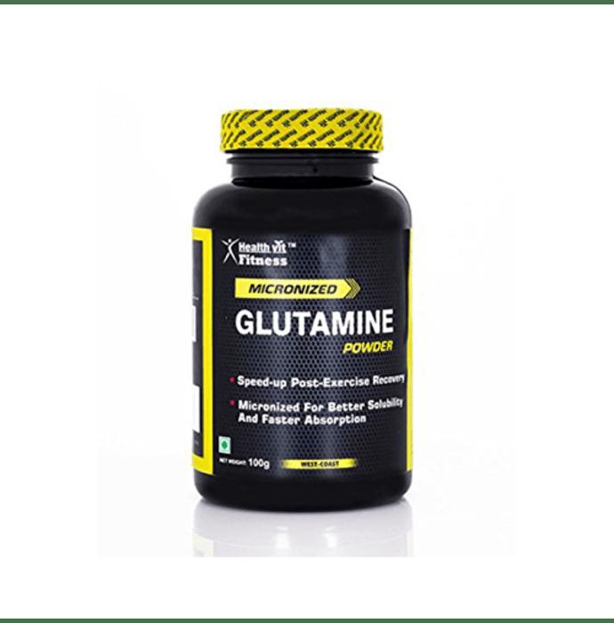 HealthVit Micronised Glutamine Powder