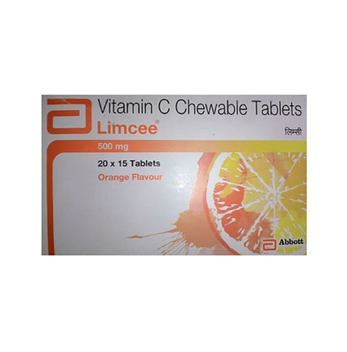 Limcee Chewable Tablet Orange
