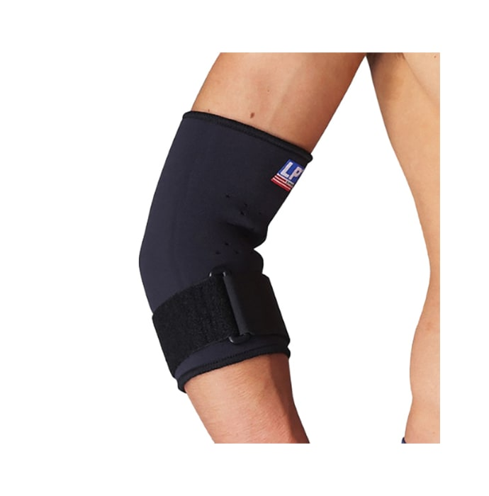 LP 723 Neoprene Tennis Elbow Support with Strap M Black