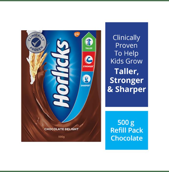 Horlicks Powder Refill Pack Chocolate