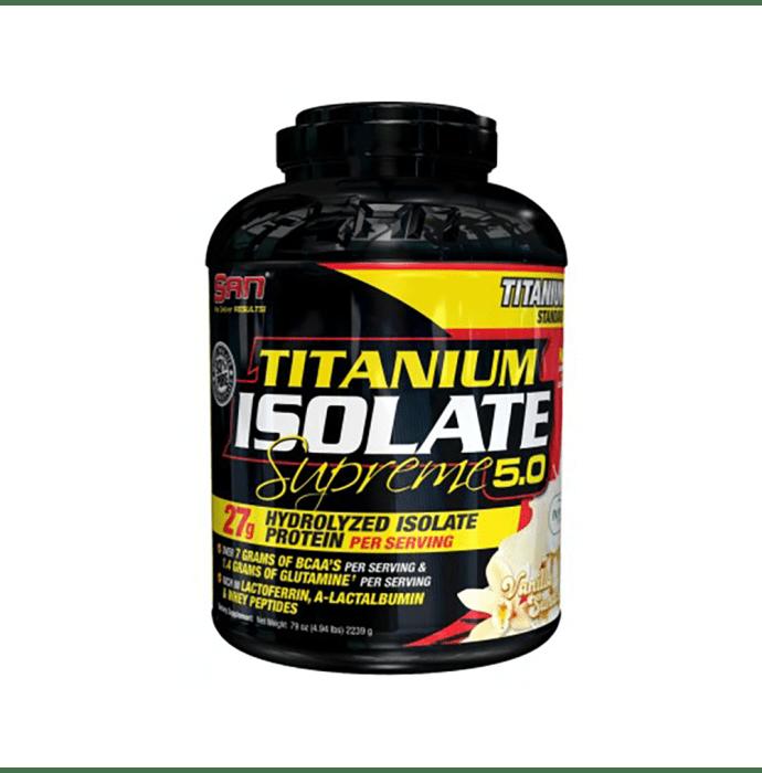 SAN Titanium Isolate Supreme 5.0 Vanilla Sundae
