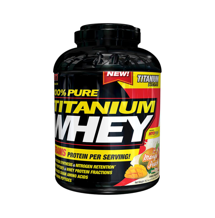 SAN 100% Pure Titanium Whey Mango Peach