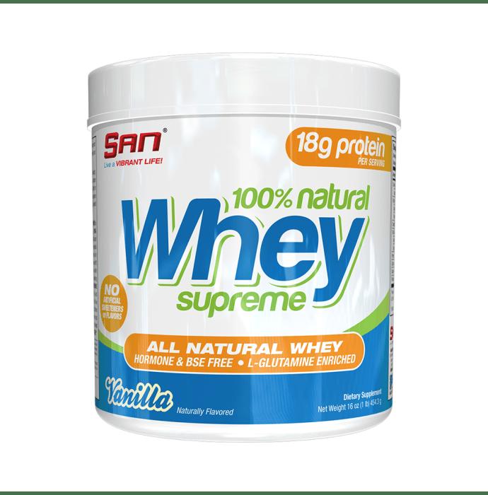 SAN 100% Natural Whey Supreme Vanilla