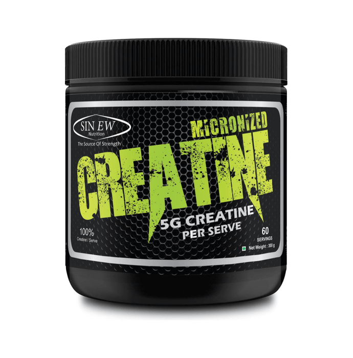 Sinew Nutrition Micronised Creatine Powder Unflavoured