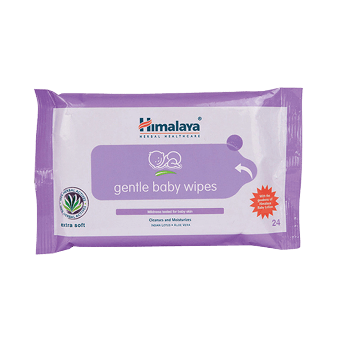 Himalaya Gentle Baby Wipes Pack of 2