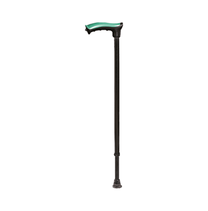 Tynor L-07 Walking Stick (Soft Top) Universal Black