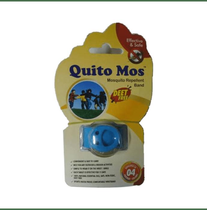 Quito Mos Mosquito Repellent Band Blue