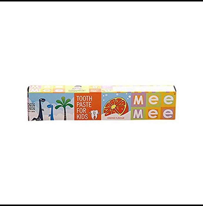 Mee Mee Fluoride Free Toothpaste Orange