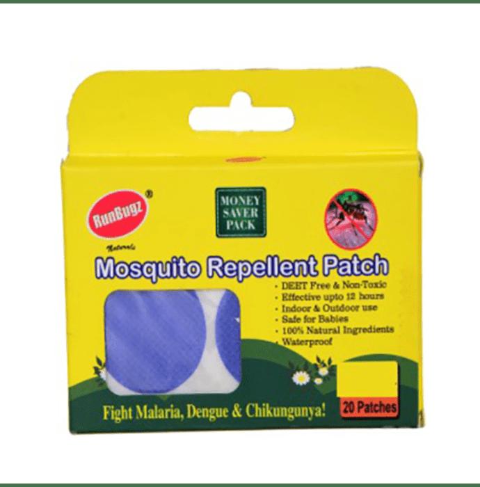 Runbugz Mosquito Repellent Patch Blue