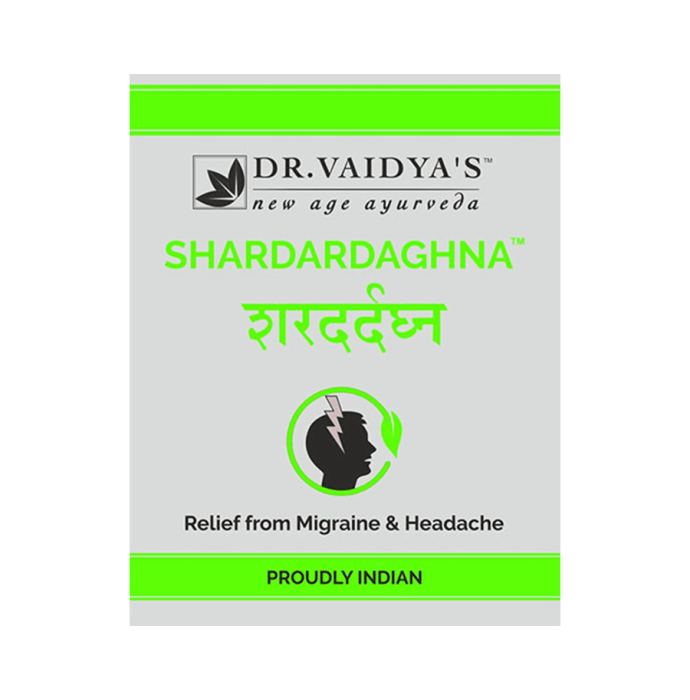 Dr. Vaidya's Shardardaghna Pills- Ayurvedic Treatment for Migraneous Headache Pack of 2