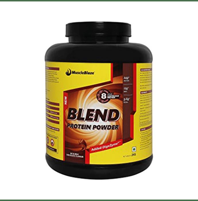 MuscleBlaze Blend Protein Powder Rich Milk Chocolate