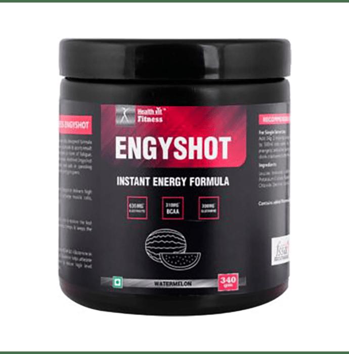 HealthVit Fitness Engyshot Instant Energy Formula Powder Watermelon