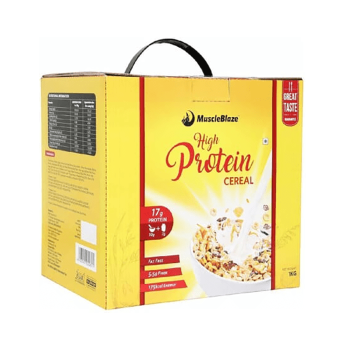 MuscleBlaze High Protein Cereal