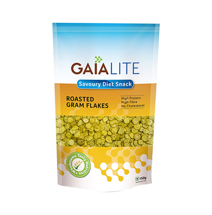GAIA Lite Roasted Gram Flakes Pack of 2