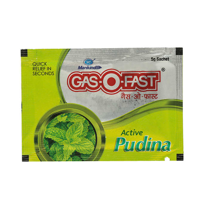 Gas-O-Fast Active Sachet Mint