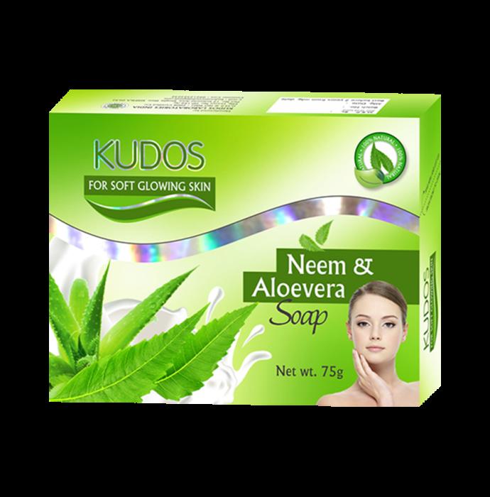 Kudos Neem & Aloe Vera Soap Pack of 3