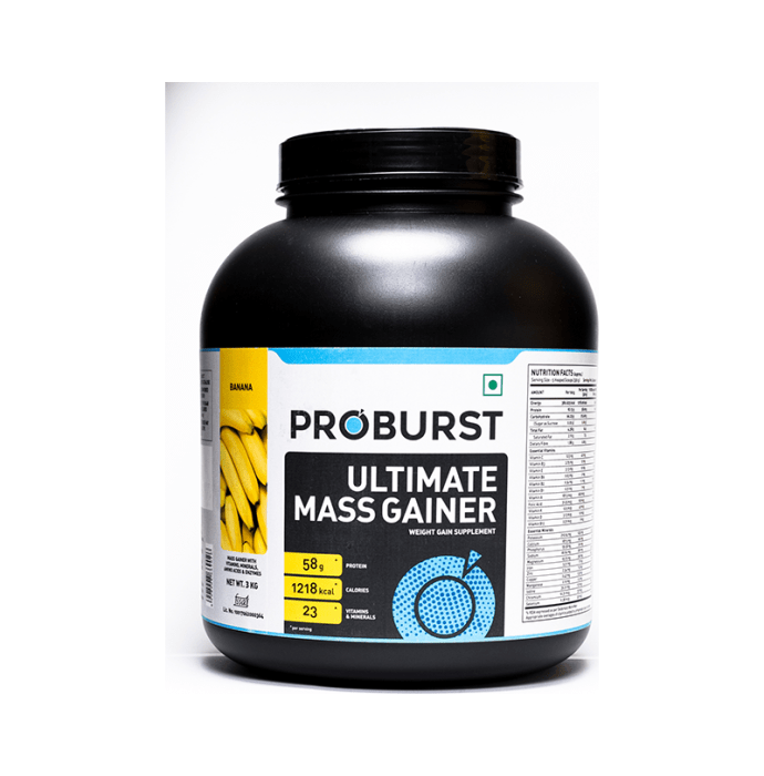 Proburst Ultimate Mass Gainer Banana