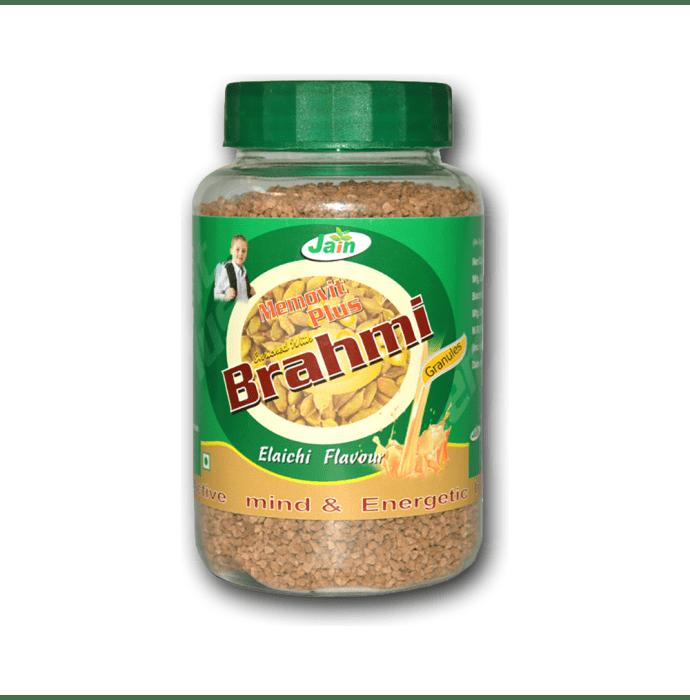 Jain Memovit Plus Brahmi Granules Elaichi