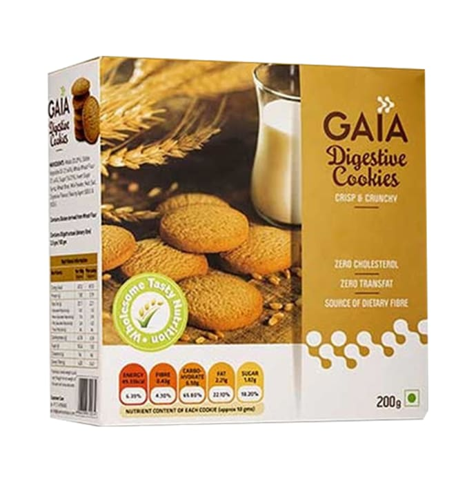 GAIA Digestive Cookies Pack of 2