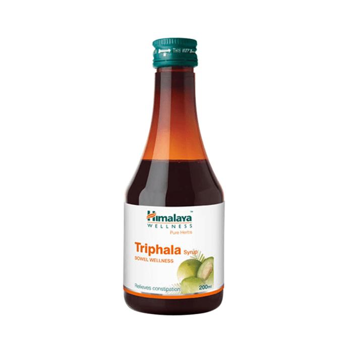 Himalaya Wellness Triphala Bowel Wellness Syrup Pack of 2
