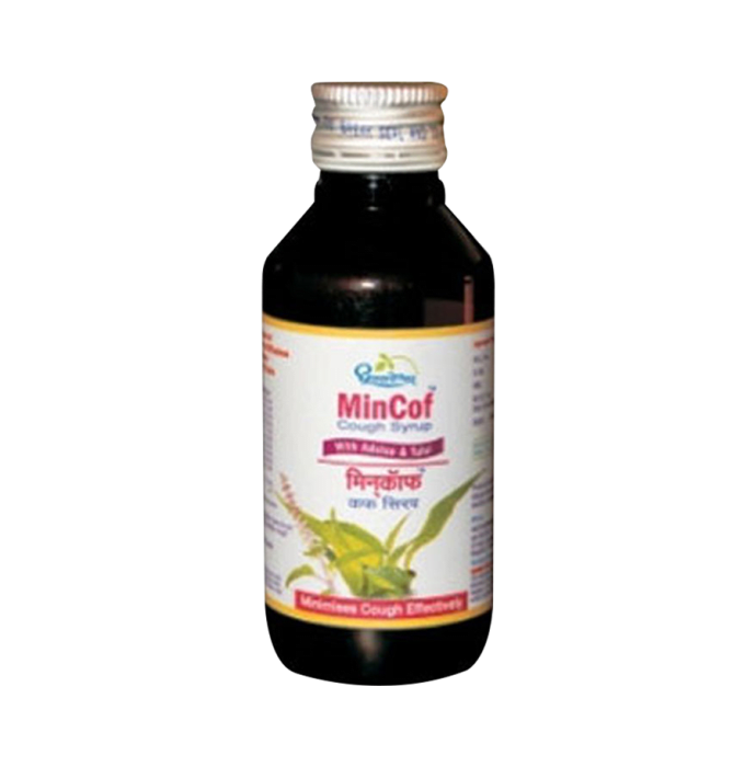 Dhootapapeshwar Mincof Syrup Pack of 2