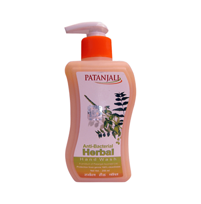 Patanjali Ayurveda Anti-Bacterial Herbal Handwash Pack of 2