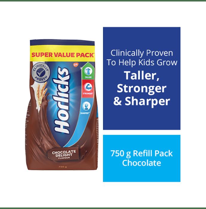 Horlicks Powder Refill Pack Chocolate Delight