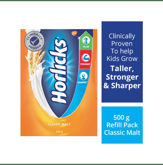Horlicks Powder Refill Pack Classic Malt