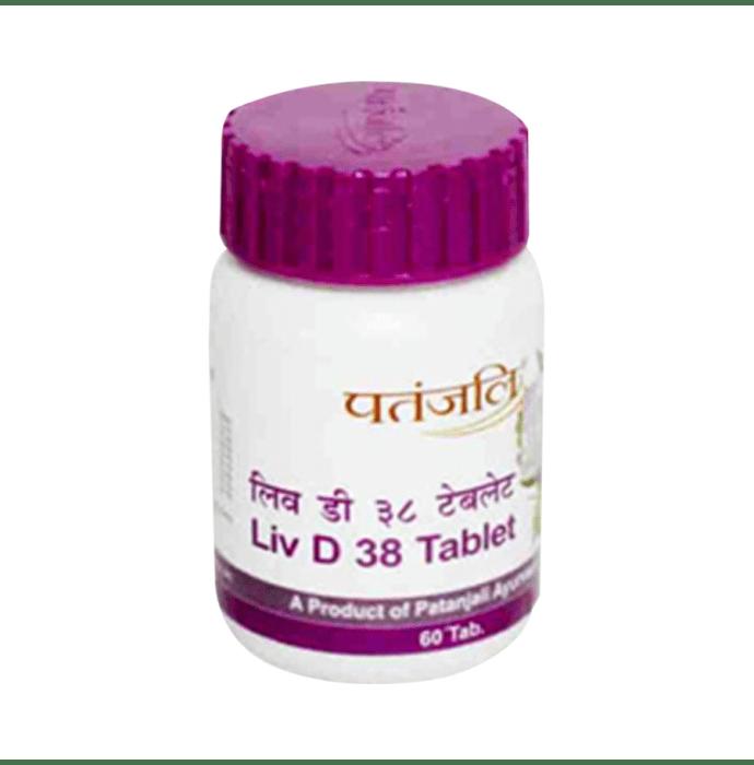 Patanjali Ayurveda Liv D 38 Tablet Pack of 2