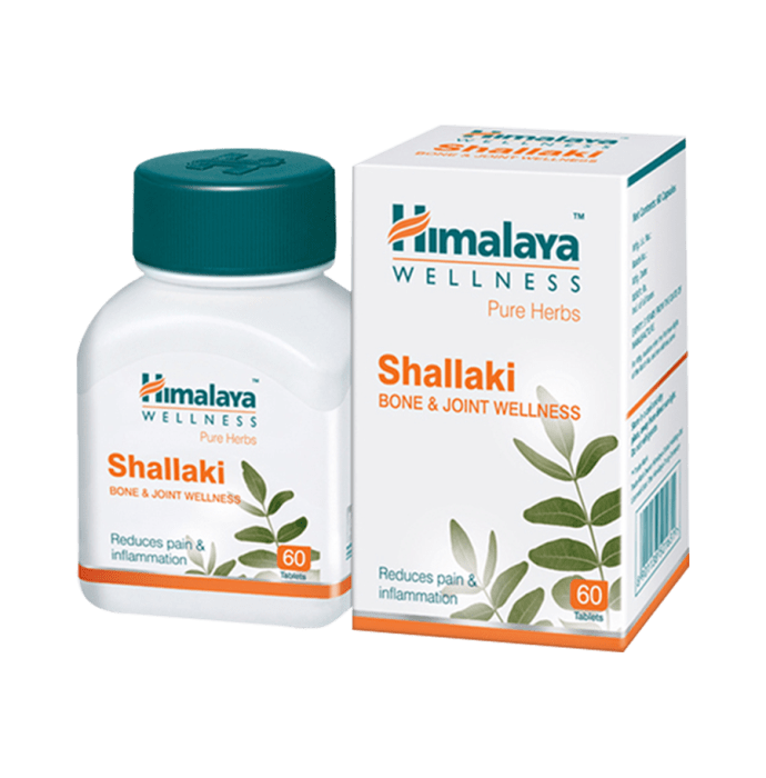 Himalaya Wellness Pure Herbs Shallaki Bone & Joint Wellness Tablet Pack of 3
