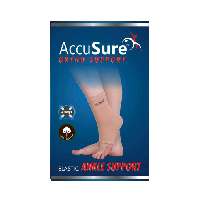 AccuSure A-9 Elastic Ankle Support M