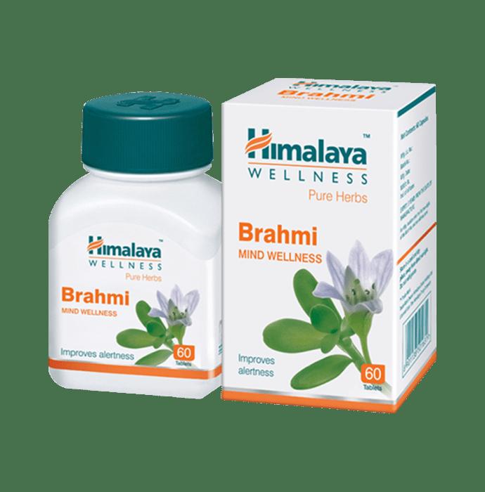 Himalaya Wellness Pure Herbs Brahmi Mind Wellness Tablet Pack of 3