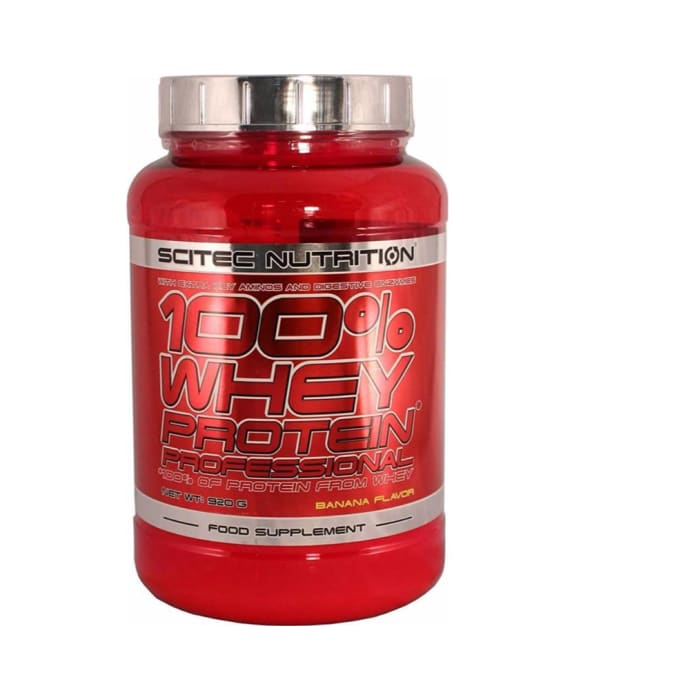 Scitec Nutrition 100% Whey Protein Professional Banana