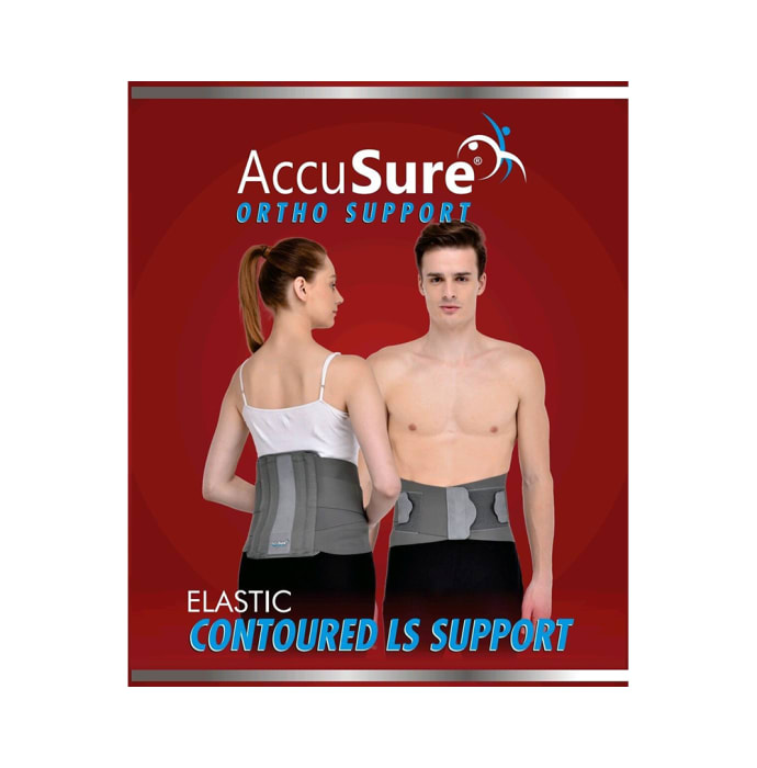 AccuSure B-5 Elastic Contoured LS Support XL
