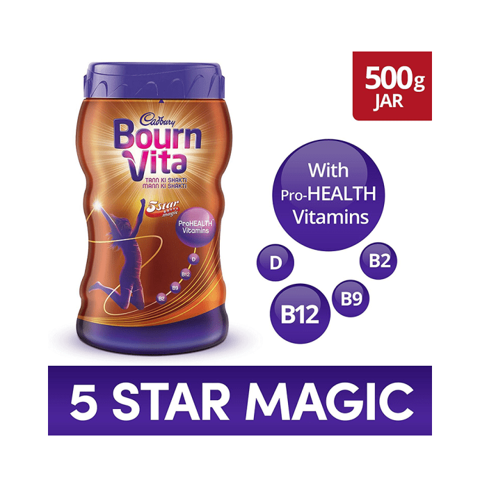 Cadbury Bournvita 5 Star Magic Chocolate Health Drink Chocolate