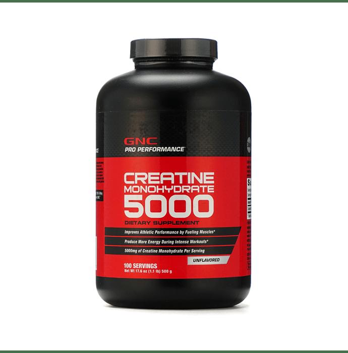 GNC Pro Performance Creatine Monohydrate 5000 Powder Unflavoured