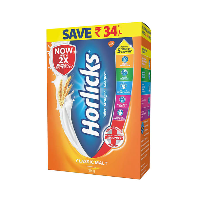 Horlicks Powder Refill Pack Classic Malt